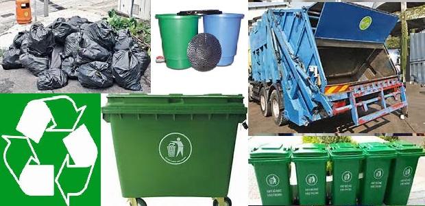 供應660/240大型收集垃圾筒